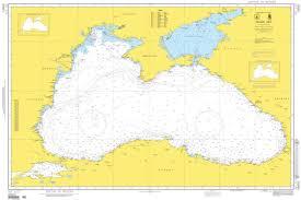 Nga Nautical Chart Black Sea Sea Of Marmara Maritime