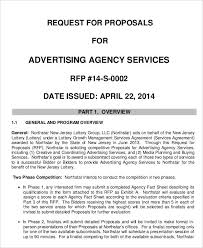 Advertising Rfp Template 11 Advertising Business Proposal Templates ...