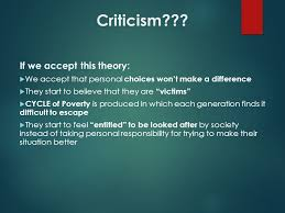 theories of poverty the culture of poverty  oscar lewis  5 criticism