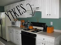 Painting Kitchen Tile Backsplash Stunning How To Paint A Backsplash To Look Like Tile Reality Daydream