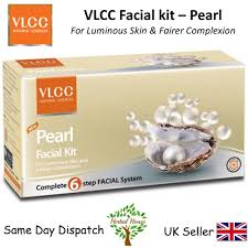 vlcc pearl kit 6 steps for healthy skin fairer skin 60grams 8906008458022 ebay