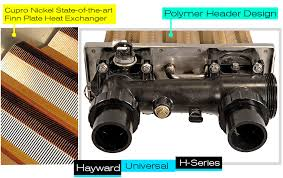 what s the best inground pool heater chainsaw journal features heat exchanger hayward h series pool heater