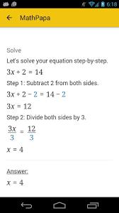 mathpapa algebra calculator الملصق mathpapa algebra calculator apk تصوير الشاشة