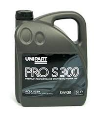 unipart 5w30 engine oil fully synthetic 5l pros300