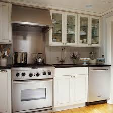 single upper kitchen cabinet. Interesting Kitchen In This 9x8foot Kitchen Every Inch Of Space Is Used Effectively To Give  The Cook A Clean Comfortable Work Upper And Lower Shakerstyle Cabinets  And Single Kitchen Cabinet I