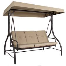 garden winds replacement canopy top for the lawson ridge 3 person swing com