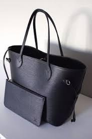 louis vuitton tote black. ohmissjen lv neverfull gm damier ebene tote bag | louis vuitton neverfull, authentic and dusters black
