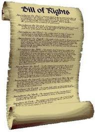 bill of rights scroll com bill of rights scroll