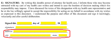 Free New Jersey Health Care Proxy Directive (Medical Poa) Form ...