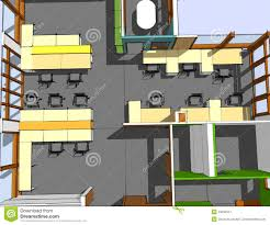 pics of office space. Sketch Of Office Space Stock Illustration. Illustration Illuminated - 33032527 Pics F