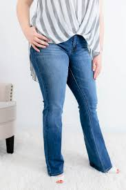 Kancan Bootcut Jeans Everly Wash