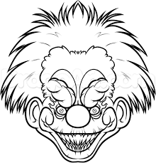 Free Clown Coloring Pages Clown Coloring Pages With Wallpaper Iphone
