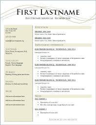 Resume Template Pdf Download Resume Free Samples Simple Sample Resume For Freshers Resume Samples 67