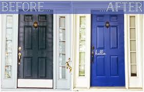 entry door kick plates. brilliant the florkens our front door makeover brass kick plates for doors ideas entry