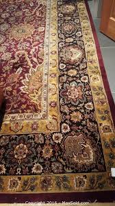 sold on maxsold for 1000 area rug 12x10