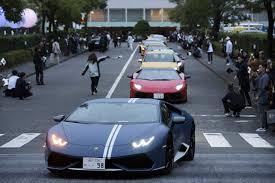 Lamborghini Makes Five Special Edition Aventador S Roadsters For Japan