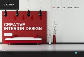 Website Template 40322 Modernum Interior Design Custom Website