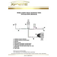 How To Wire A Work Light Three Led Work Light Diagram Wiring Diagram