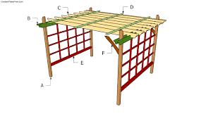 building a garden pergola