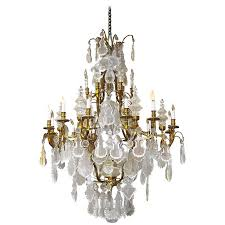 2016 huge baccarat style crystal chandelier with fleur de lis finials