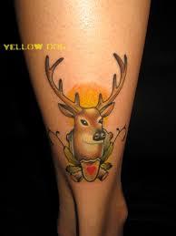 татуировка олень значение эскизы тату и фото