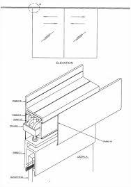 sliding glass doors drawing. Delighful Doors Sliding Door Design Drawing 24 Glass Plan Dwg  Designs To Doors A