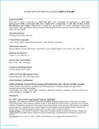 Resume Developer Resume Sample Templates Senior For Pl