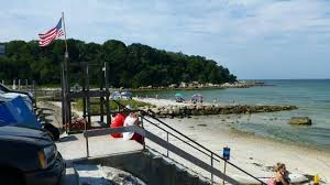 Low Tide Picture Of Old Silver Beach Falmouth Tripadvisor