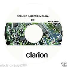 clarion service manual and repair new shipping clarion service manual and repair new shipping