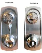 Bargains on Single Cylinder Deadbolt Entrance Entry Door Knob Lock