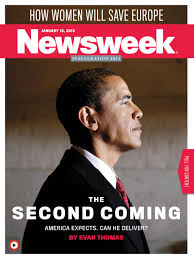 creative minority report newsweek cover obama the second coming