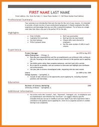 Resume Format Template Teller Resume Sample