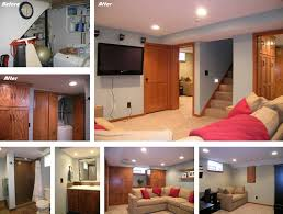 Small Basement Remodeling Before And After