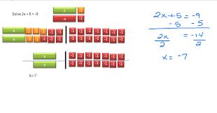 solve 2x 5 9
