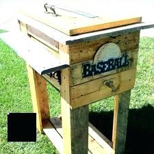 wooden cooler box plans wooden ice chest plans free wood cooler recycled pallet deck box outdoor