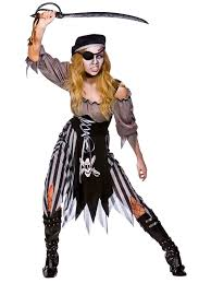 las zombie pirate costume cutthroat ghost fancy dress y female pirate makeup for beautiful