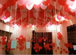 birthday party ceiling decoration in
