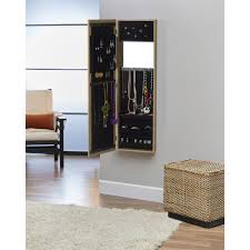 wonderful hanging mirrored jewelry armoire inner space over the door wall hang com metallic balloon light closet cabinet bright wardrobe heart