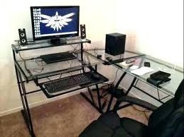 z line desk command desktop linux glass l shaped computer trendy idea