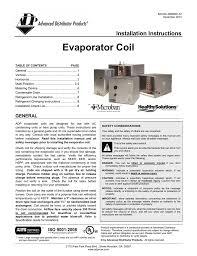 Adp Piston Size Chart Evaporator Coil Advanced Distributor Products