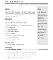 Cover Letter Template For Mechanical Engineering Internship Resume