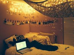 lighting for teenage bedroom. bedroom hipster teen decorating ideas yellow hanging string led lights ceiling lamps black fur lighting for teenage d