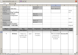 Tracking Tools In Excel Atl Use Case Software Quality Control Tools