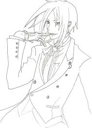 aecfdaed for black butler coloring pages