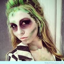 beetlejuice female makeup for