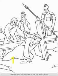 Stations Of The Cross Coloring Pages Pdf Zabelyesayancom