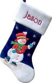 snowman christmas stockings.  Snowman Snowman Skating Personalized Christmas Stocking For Kids And Stockings N