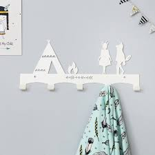 Nursery Coat Rack Wilderness Nursery Coat Rack Nursery Wall Hanger Kid's 14
