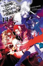 Danmachi Light Novel Volume 2 Danmachi Ln Volume 14 English Cover Release December 31