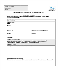 Free 42 Incident Report Examples Samples In Pdf Google